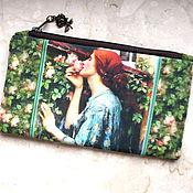 Сумки и аксессуары handmade. Livemaster - original item Cosmetic Bag, phone bag, bridesmaid clutch, Soul of Rose. Handmade.