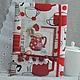 Блокноты ручной работы. Ярмарка Мастеров - ручная работа. Купить Кулинарный блокнот в мягкой обложке. Handmade. Ярко-красный
