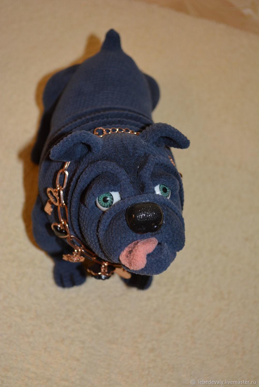 Bulldog Hercule, Stuffed Toys, Surgut,  Фото №1