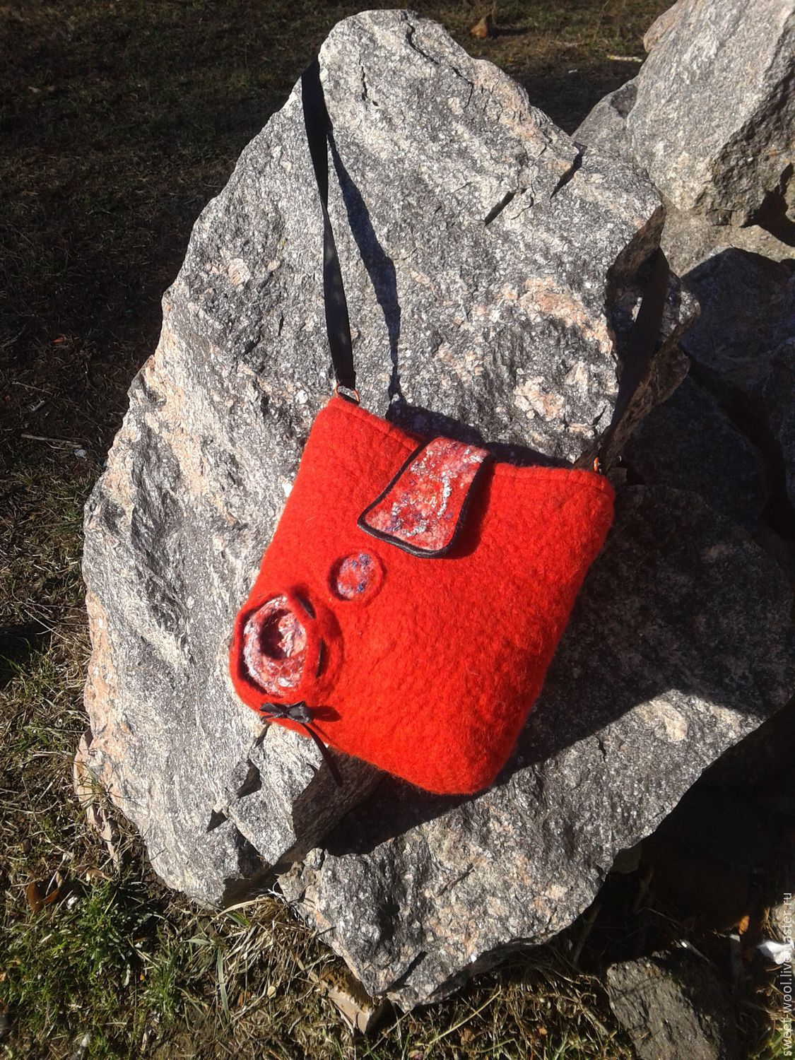 Red bag, Classic Bag, Vinnitsa,  Фото №1