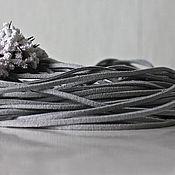 Материалы для творчества ручной работы. Ярмарка Мастеров - ручная работа Замшевый шнур. Handmade.