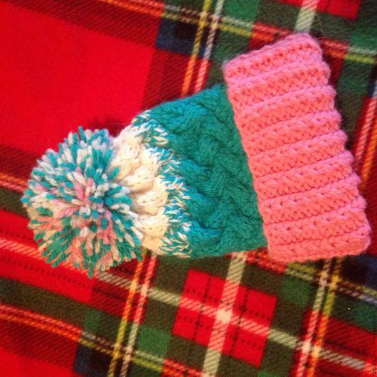 Шапки и шарфы ручной работы. Ярмарка Мастеров - ручная работа. Купить Шапочка. Handmade. Комбинированный, детская шапочка