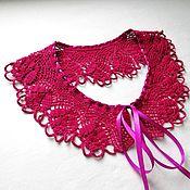 Аксессуары handmade. Livemaster - original item Lace collar crochet No. №38. Handmade.