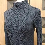 """Одежда ручной работы. Ярмарка Мастеров - ручная работа Пуловер """"Джинсовый стиль"""". Handmade."""
