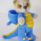 Stuffed Toys handmade. Livemaster - original item Bear in a dragon costume/Bear in a dragon costume. Handmade.