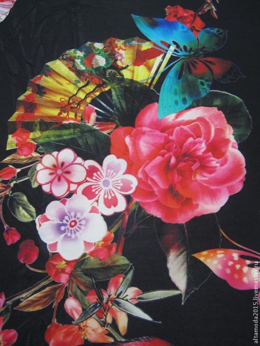 Шитье ручной работы. Ярмарка Мастеров - ручная работа. Купить Трикотаж  Dolce & Gabbana 2015 вискоза ткани Италии. Handmade.
