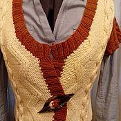 """Одежда ручной работы. Ярмарка Мастеров - ручная работа Жилетка """"Карпаты"""". Handmade."""
