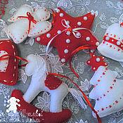 Для дома и интерьера handmade. Livemaster - original item Christmas charms tree. Handmade.