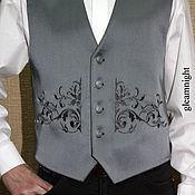Одежда handmade. Livemaster - original item Elegant mens vest. Handmade.