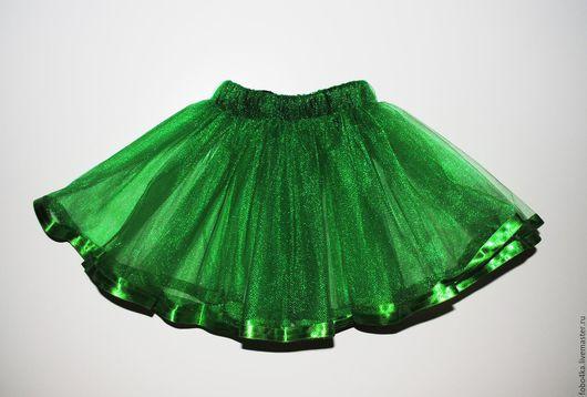 Юбки ручной работы. Ярмарка Мастеров - ручная работа. Купить Юбочка из фатина. Handmade. Зеленый, красивая юбка, фатин