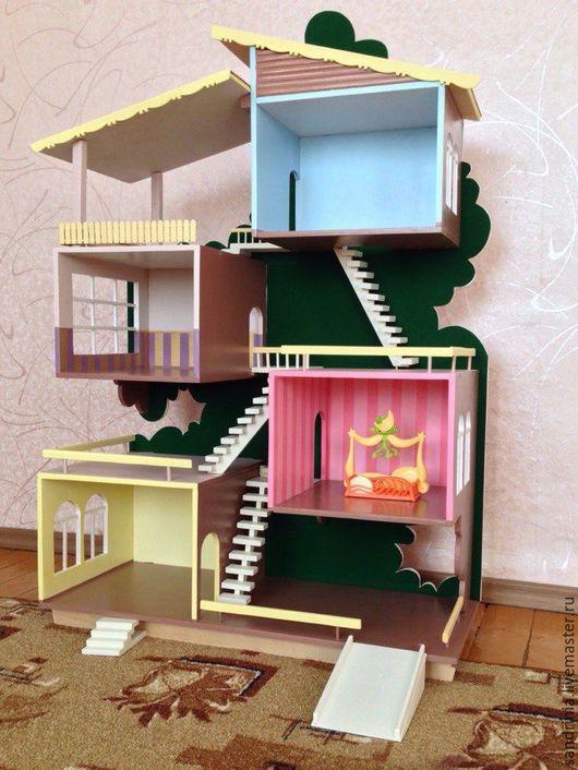 Детская ручной работы. Ярмарка Мастеров - ручная работа. Купить Домик для кукол. Handmade. Фанера, деревянные изделия
