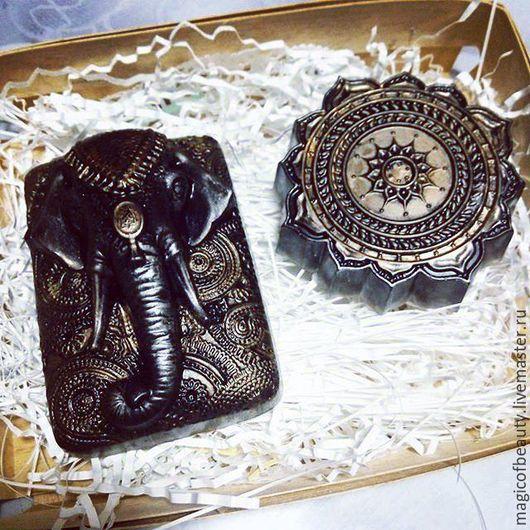 Подарочные наборы косметики ручной работы.Ярмарка Мастеров-ручная работа.Купить набор мыла `Индийский слон`.