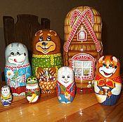 Русский стиль handmade. Livemaster - original item Russian dolls