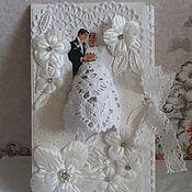 Конверты ручной работы. Ярмарка Мастеров - ручная работа Конверт для денег на свадьбу. Handmade.