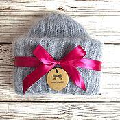 Аксессуары handmade. Livemaster - original item Knitted women`s mohair hat