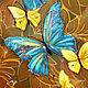 Картины цветов ручной работы. Влюбленные Бабочки. Светлана Логинова. Интернет-магазин Ярмарка Мастеров. Цветы, день рождения, в гостиную