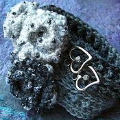 Украшения ручной работы. Ярмарка Мастеров - ручная работа Браслет Розы вязаный крючком. Handmade.