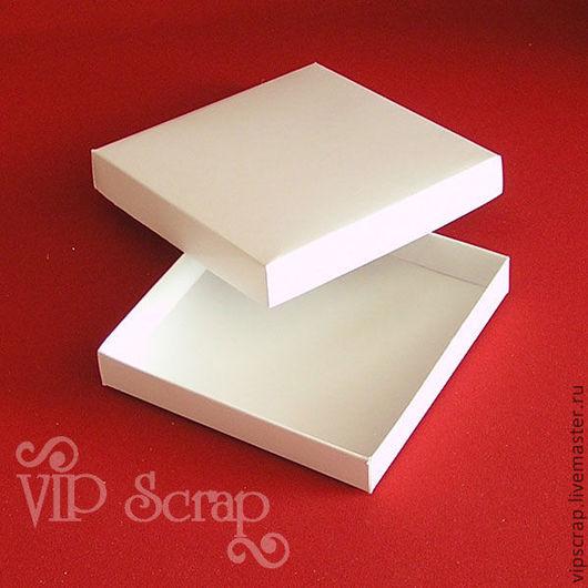 """Упаковка ручной работы. Ярмарка Мастеров - ручная работа. Купить Коробки """"крышка-дно"""" из белого мелованного картона. Handmade. Коробка"""