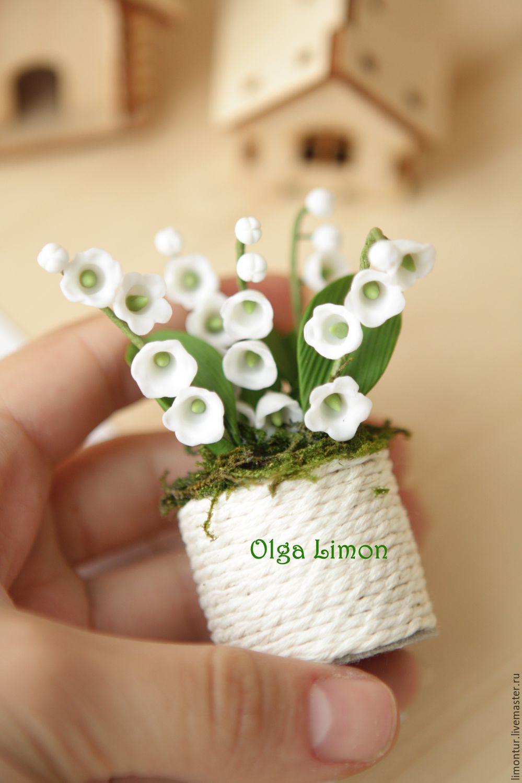 Купить цветы в горшках мини