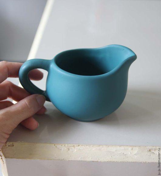 Графины, кувшины ручной работы. Ярмарка Мастеров - ручная работа. Купить Кувшин-молочник - керамика ручной работы. Handmade. Зеленый