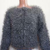 """Пиджаки ручной работы. Ярмарка Мастеров - ручная работа Жакет в стиле """"Гламур"""" из козьего пуха. Handmade."""