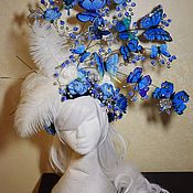 Украшения handmade. Livemaster - original item Fabulous wreath