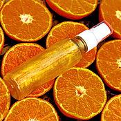 Масла ручной работы. Ярмарка Мастеров - ручная работа Сухое масло для тела мандариновое. Handmade.
