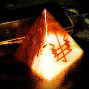 Фен-шуй и эзотерика handmade. Livemaster - original item The pyramid is a talisman of Personal power, runic artifact. Handmade.