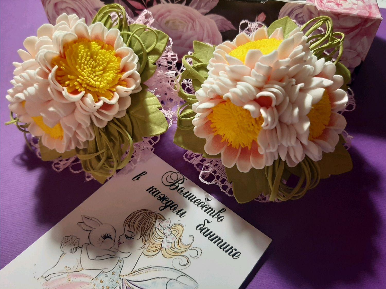 Ромашки очаровашки, Резинка для волос, Москва,  Фото №1