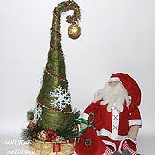 Подарки к праздникам ручной работы. Ярмарка Мастеров - ручная работа Новогодняя елочка с конфетами. Handmade.