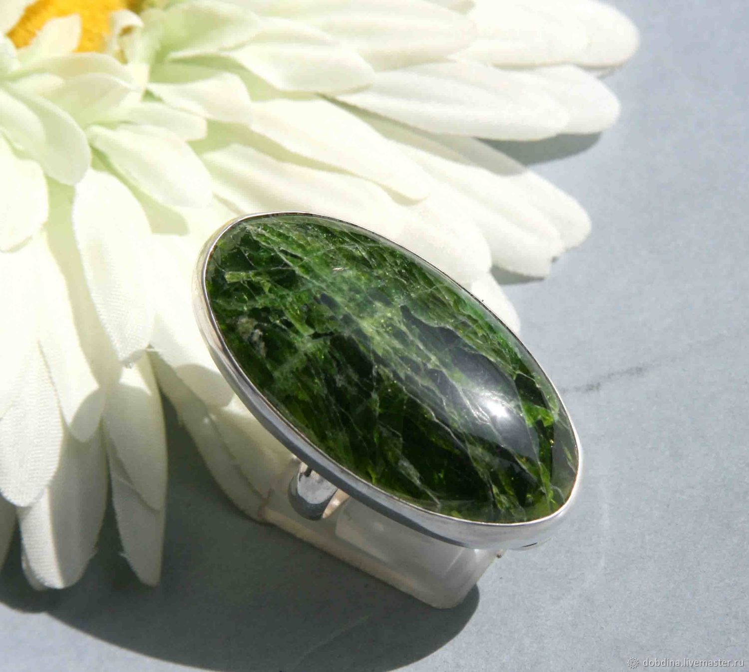 Ring with diopside. Silver, Rings, Moscow,  Фото №1