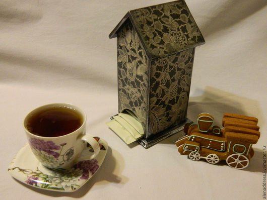 Персональные подарки ручной работы. Ярмарка Мастеров - ручная работа. Купить Чайный домик. Handmade. Черный, подарок на любой случай