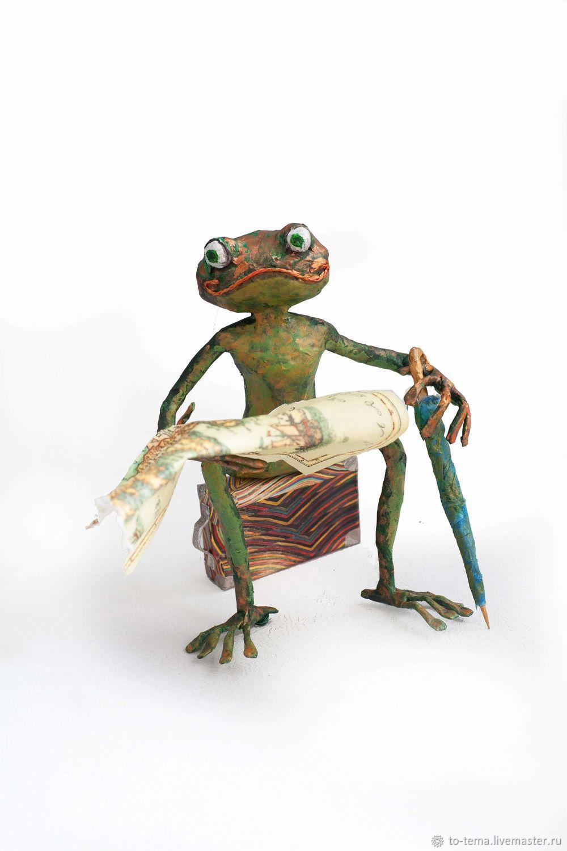 Лягушка-путешественница штурман, Куклы и пупсы, Москва,  Фото №1