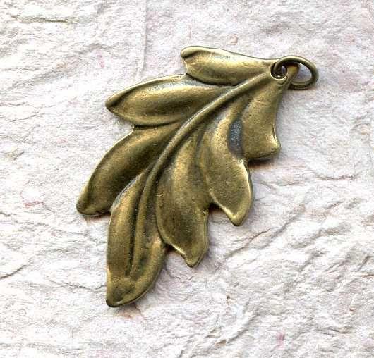 Для украшений ручной работы. Ярмарка Мастеров - ручная работа. Купить Подвеска Лист перистый. Handmade. Украшения ручной работы