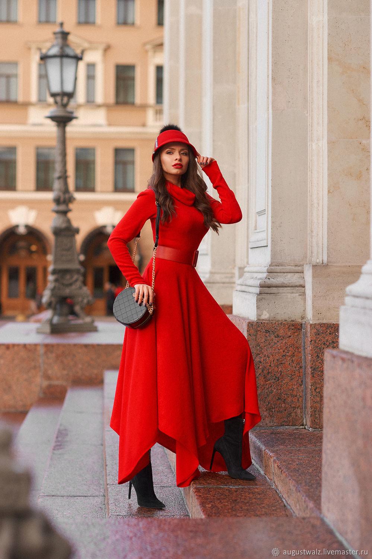 Тёплое платье из ангорки, Платья, Санкт-Петербург, Фото №1