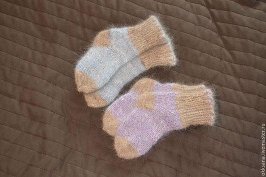 носочки из шерсти самоеда