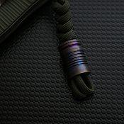 Сувениры и подарки handmade. Livemaster - original item Titanium knife bead, knife bead. Handmade.