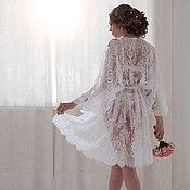Одежда handmade. Livemaster - original item Lace negligee. Handmade.