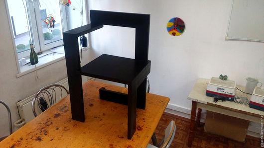 Мебель ручной работы. Ярмарка Мастеров - ручная работа. Купить Стул. Handmade. Черный, мебель из дерева