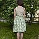 Одежда для девочек, ручной работы. Заказать Платье-сарафан с бантиком. Vera Olshvang. Ярмарка Мастеров. Сарафан, нарядное платье, бантик