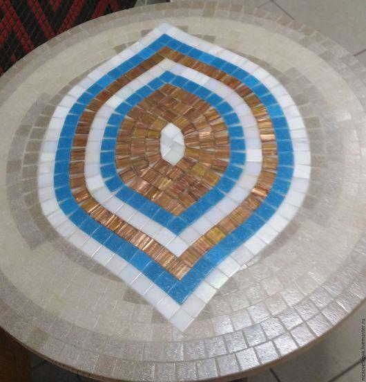 """Мебель ручной работы. Ярмарка Мастеров - ручная работа. Купить Мозаика, Стол  """"Оракул"""". Handmade. Комбинированный, уютный дом, дача"""