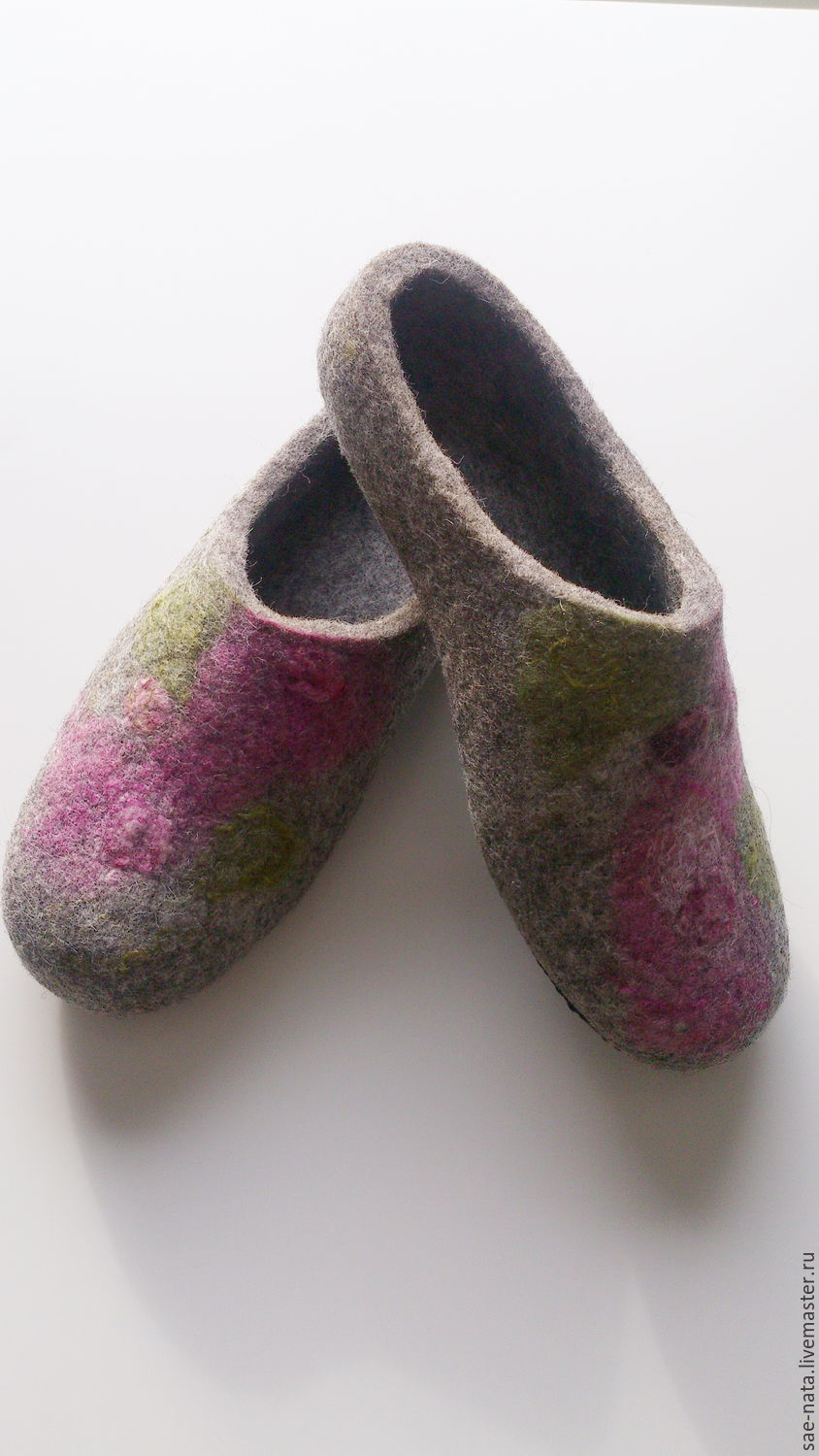 Felted Slippers for women, Slippers, Leninsk-Kuznetsky, Фото №1