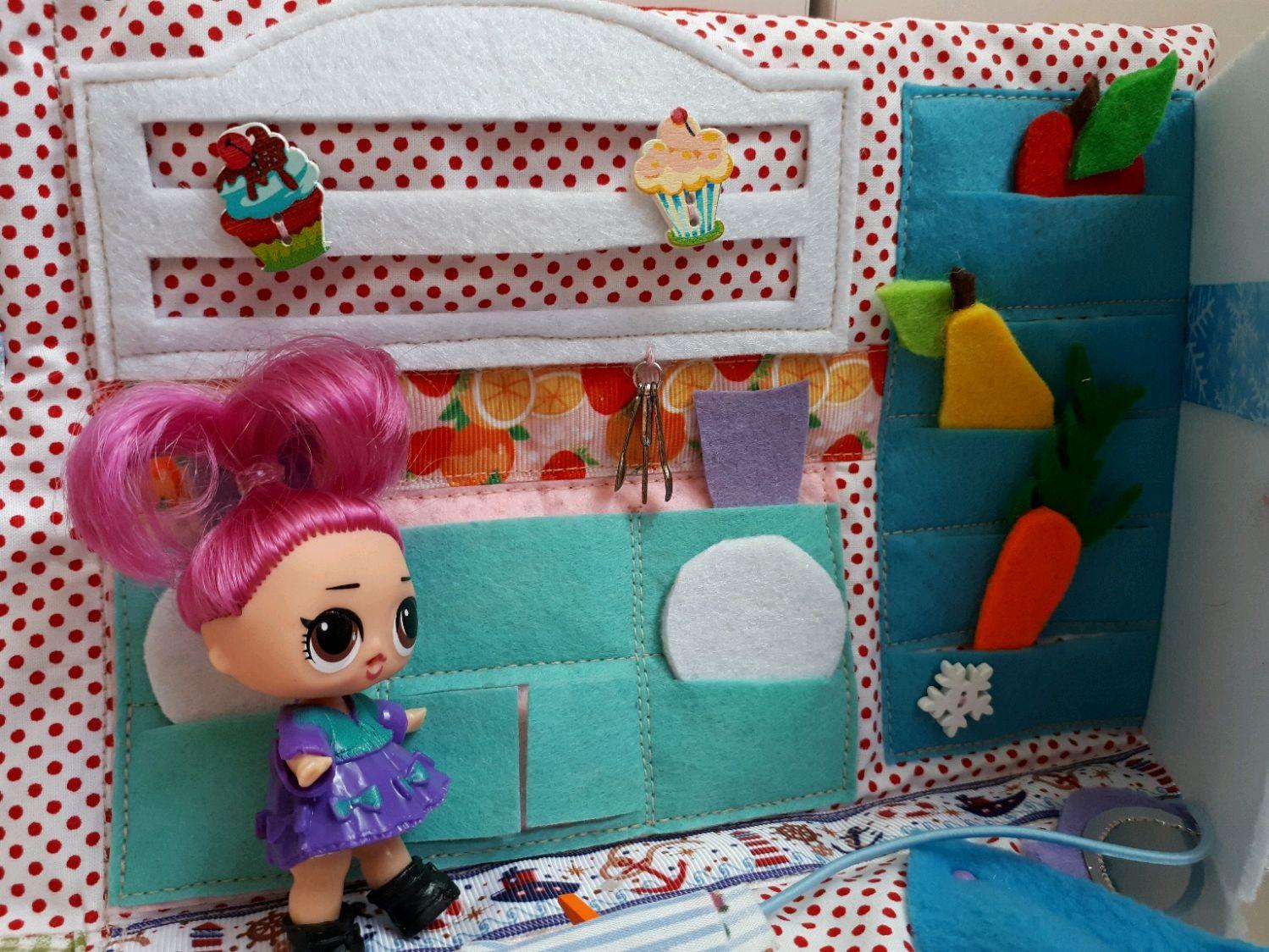 Домик для куклы лол-LOL, Мягкие игрушки, Ялта,  Фото №1