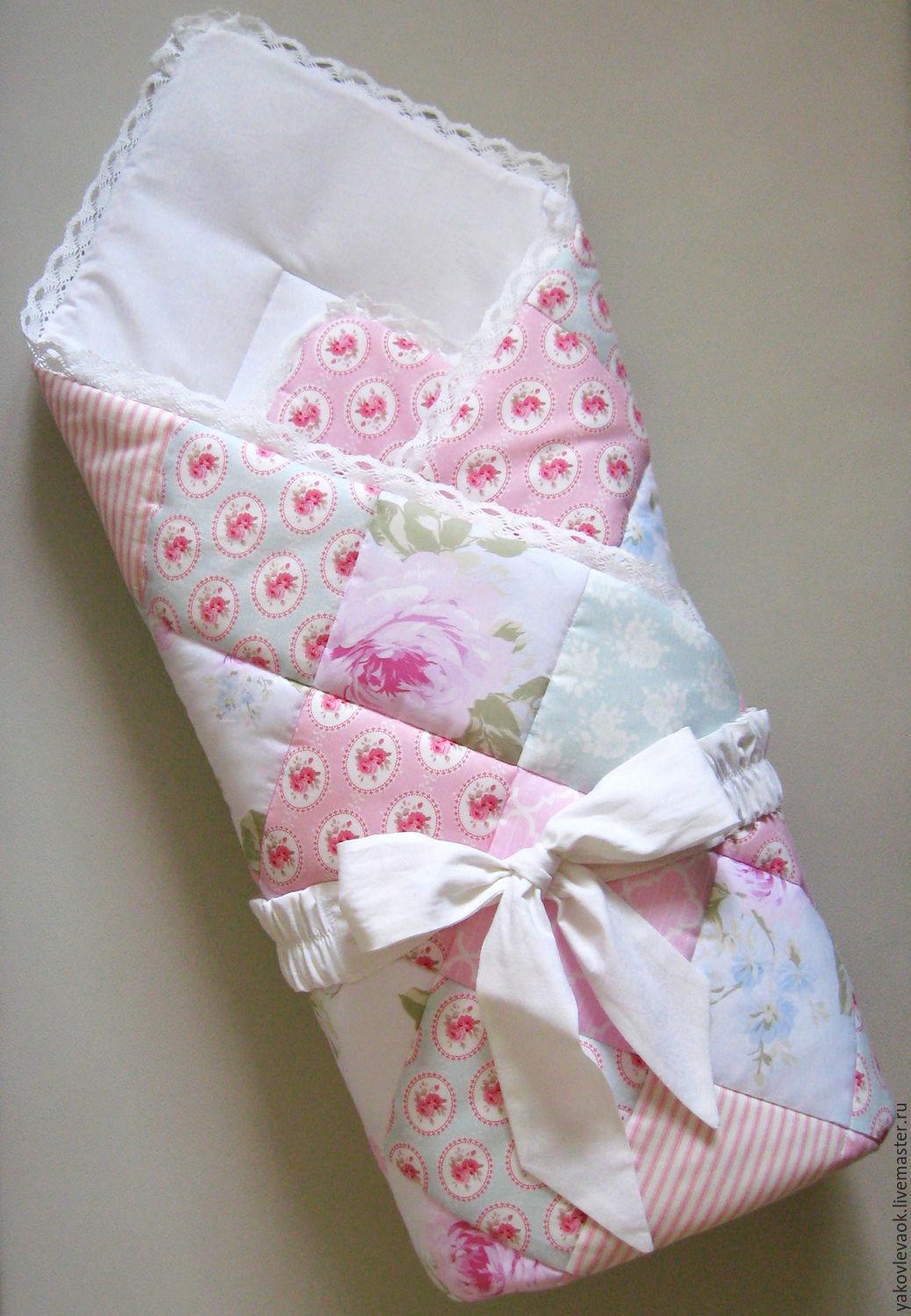 Одеяло на выписку своими руками фото 636