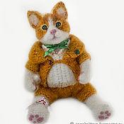 Куклы и игрушки handmade. Livemaster - original item Knitted Kitten, stuffed toy. Handmade.