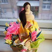 Куклы Тильда ручной работы. Ярмарка Мастеров - ручная работа Тильда беременная. Handmade.