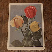 Винтаж handmade. Livemaster - original item Old postcards. Years: 1961, 1972, 1933, 1951 and two without date.. Handmade.