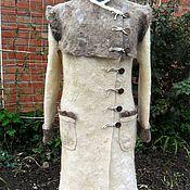 """Одежда ручной работы. Ярмарка Мастеров - ручная работа Валяное пальто """"Очарование"""". Handmade."""