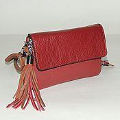 Сумки и аксессуары handmade. Livemaster - original item Handbag leather women`s