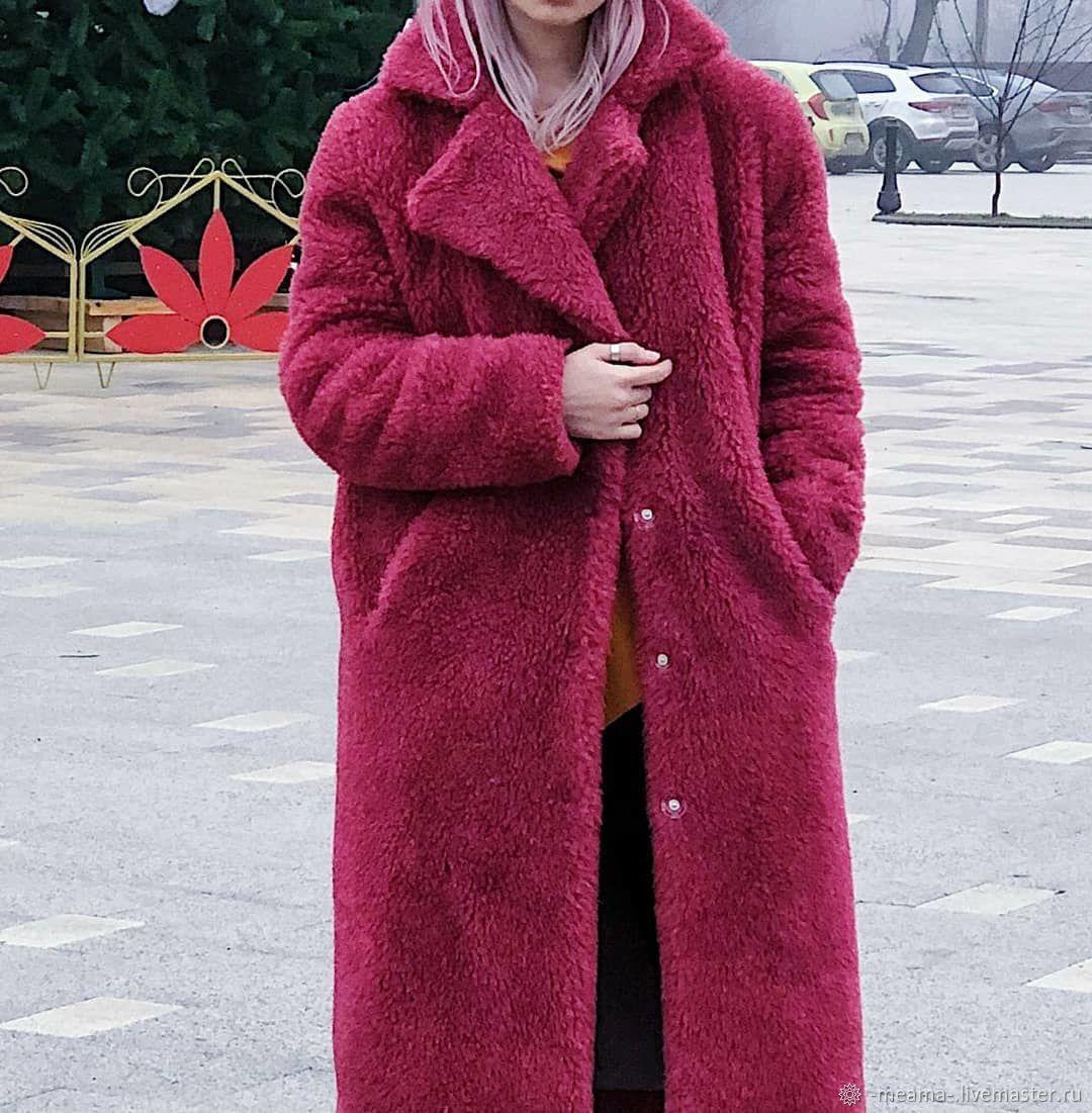 Шуба из овечьей шерсти, Шубы, Санкт-Петербург,  Фото №1